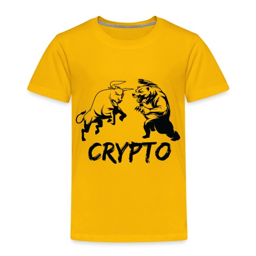CryptoBattle Black - Toddler Premium T-Shirt