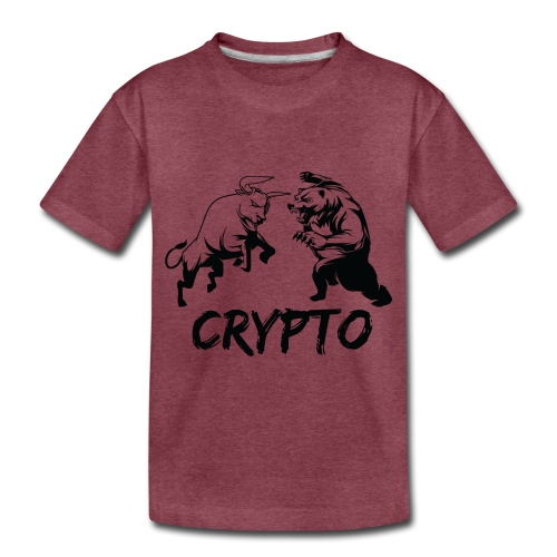 CryptoBattle Black - Toddler Premium T-Shirt