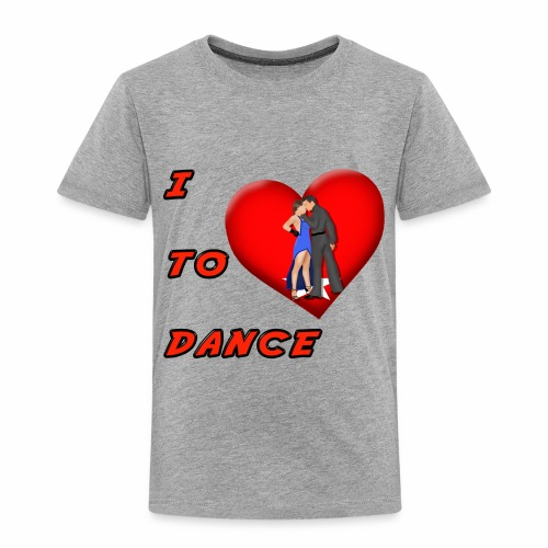 I Heart Dance - Toddler Premium T-Shirt