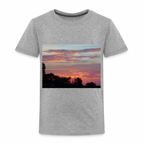 Sunset of Pastels - Toddler Premium T-Shirt