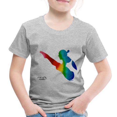Rainbow Diver - Toddler Premium T-Shirt
