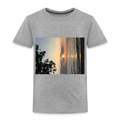 Beach Sunset - Toddler Premium T-Shirt