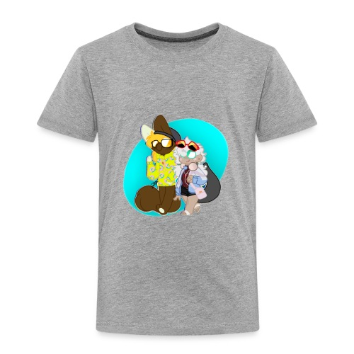 DONUT AND COFFEE - Toddler Premium T-Shirt