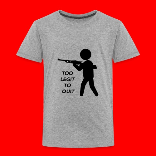OxyGang: Too Legit To Quit Products - Toddler Premium T-Shirt