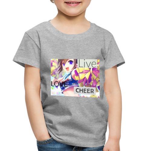 live love cheer - Toddler Premium T-Shirt