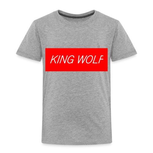 KING WOLF - Toddler Premium T-Shirt