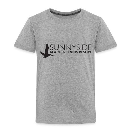Logo Large Black - Toddler Premium T-Shirt