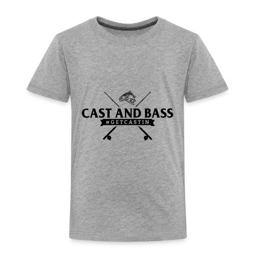 Cast and Bass - Toddler Premium T-Shirt