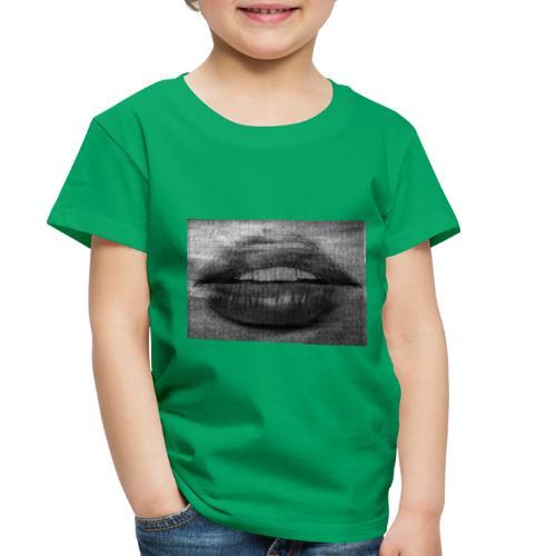Blurry Lips - Toddler Premium T-Shirt