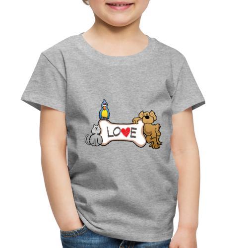 Pet Love - Toddler Premium T-Shirt