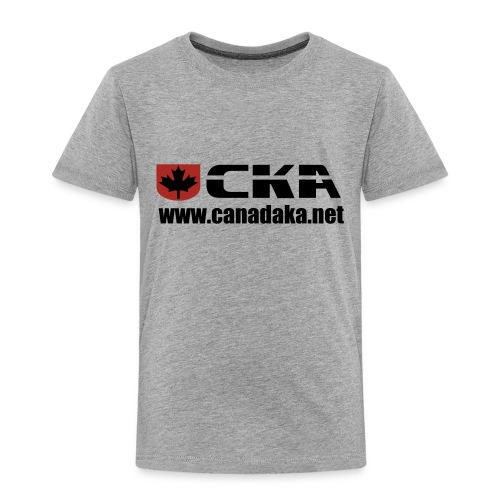CKA Back 3 - Toddler Premium T-Shirt