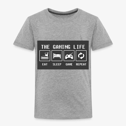 Gaming is life - Toddler Premium T-Shirt