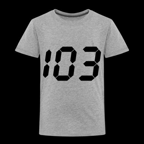 perfect 103 - Toddler Premium T-Shirt