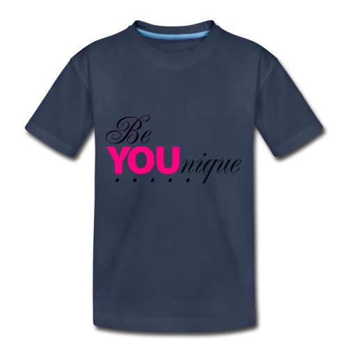 Be Unique Be You Just Be You - Toddler Premium T-Shirt