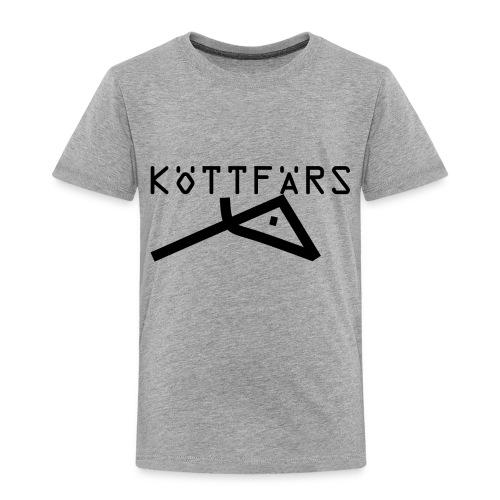 Köttfärs Black - Toddler Premium T-Shirt