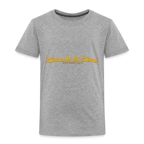 cr--me_de_la_cr--me_logo - Toddler Premium T-Shirt