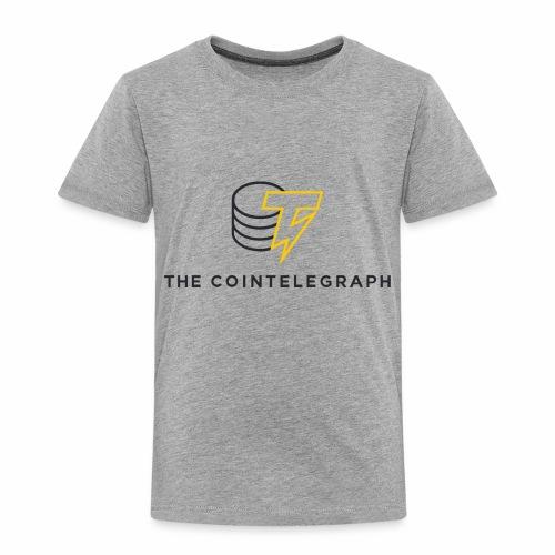 cointelegraph branding - Toddler Premium T-Shirt