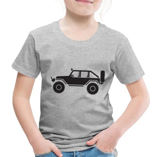 Off Road 4x4 Silhouette - Toddler Premium T-Shirt