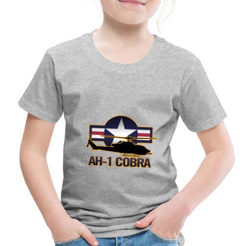 AH-1 Cobra Helicopter - Toddler Premium T-Shirt