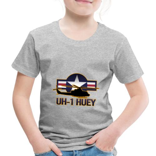 UH-1 Huey Helicopter - Toddler Premium T-Shirt