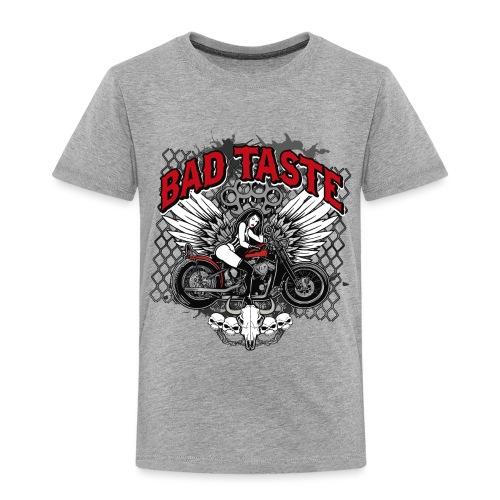 Biker Chick - Toddler Premium T-Shirt