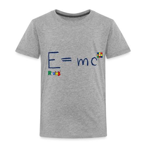 Rubik's Cube Formula Theory Of Relativity - Toddler Premium T-Shirt