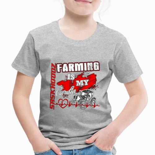 saskhoodz farming - Toddler Premium T-Shirt