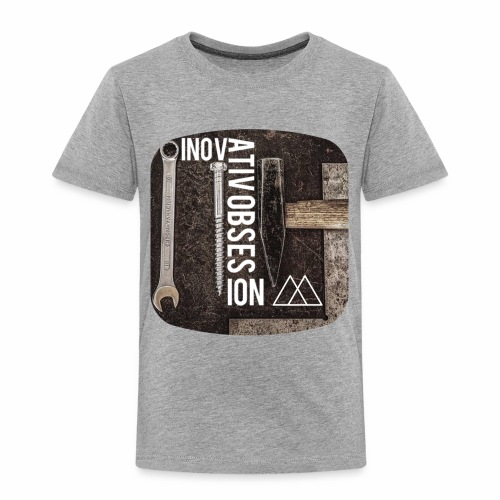"InovativObsesion ""MECHANICAL"" apparel - Toddler Premium T-Shirt"