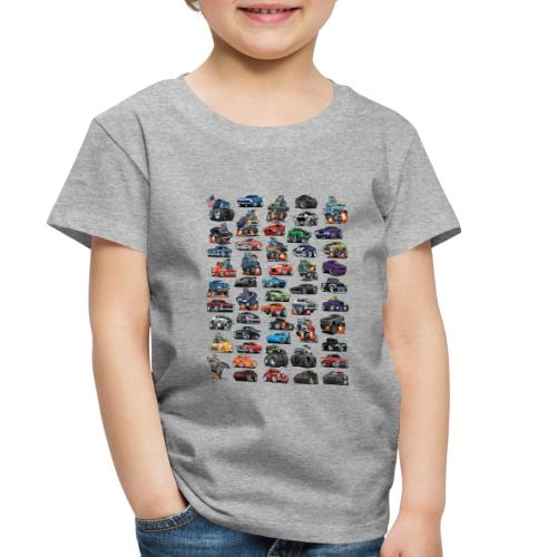 Muscle Cars, Hot Rods, Trucks and a Chopper - Toddler Premium T-Shirt