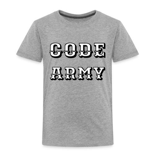 Code Army TShirt - Toddler Premium T-Shirt