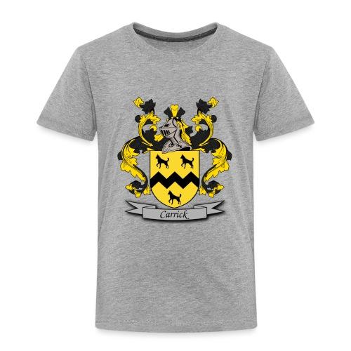 Carrick Family Crest - Toddler Premium T-Shirt