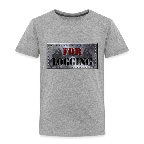 FDR Logging Main Logo - Toddler Premium T-Shirt