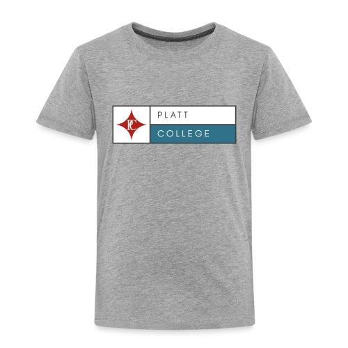 Platt College Logo 2000 - Toddler Premium T-Shirt