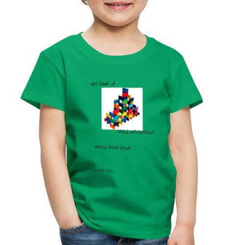 Hi I'm Ronald Seegers Collection-(transparent) - Toddler Premium T-Shirt
