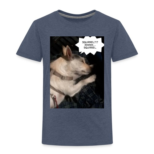 Dreaming of squirrel - Toddler Premium T-Shirt