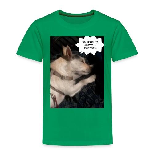 Dreaming of squirrel - Toddler Premium T-Shirt
