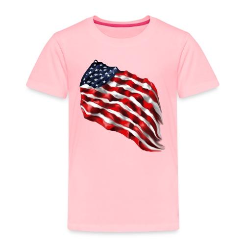 Bold Flag - Toddler Premium T-Shirt