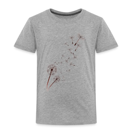 Dandelion on Baby Blue - Toddler Premium T-Shirt
