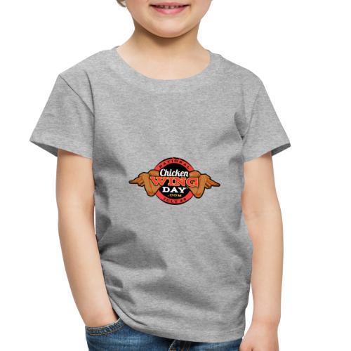Chicken Wing Day - Toddler Premium T-Shirt