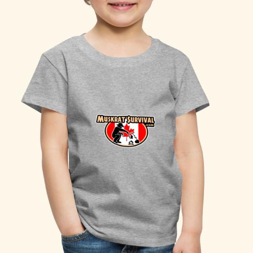 Muskrat Badge 2020 - Toddler Premium T-Shirt