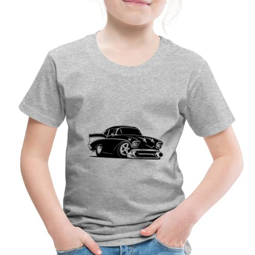 Classic American Hot Rod Car - Toddler Premium T-Shirt