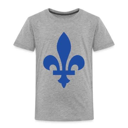 2000px Blue fleur de lis2 png - Toddler Premium T-Shirt