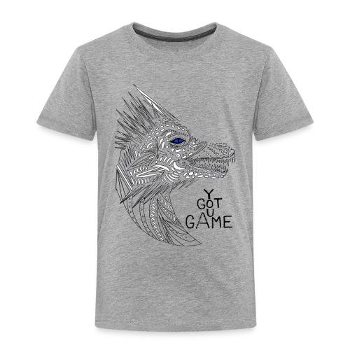 Blue eye dragon - Toddler Premium T-Shirt
