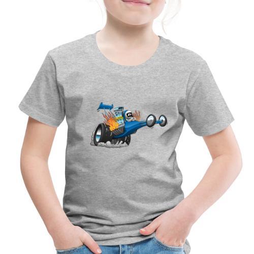 Top Fuel Dragster Cartoon - Toddler Premium T-Shirt