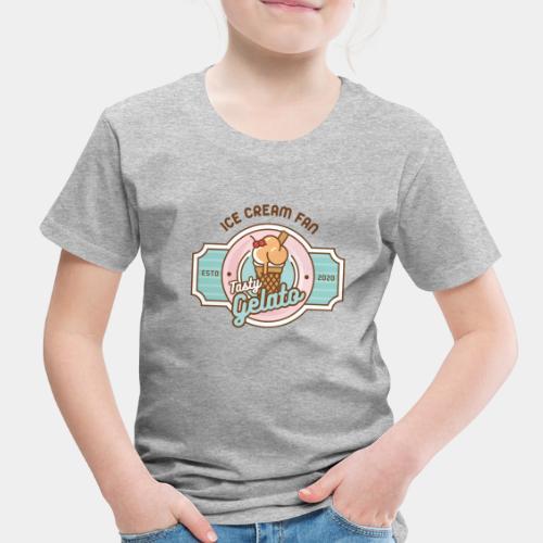 ice cream gelato - Toddler Premium T-Shirt