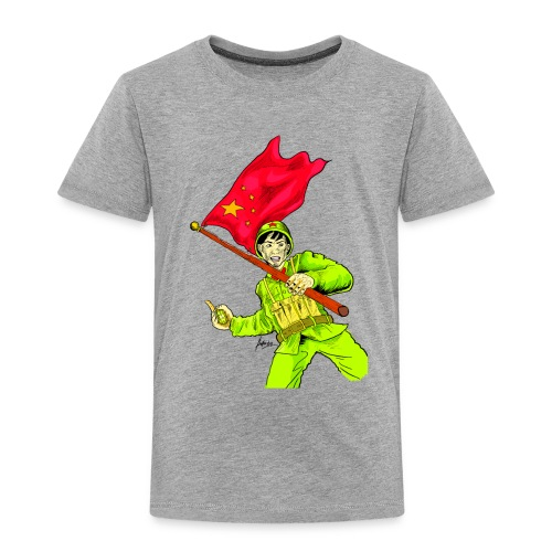 Chinese Soldier With Grenade - Toddler Premium T-Shirt