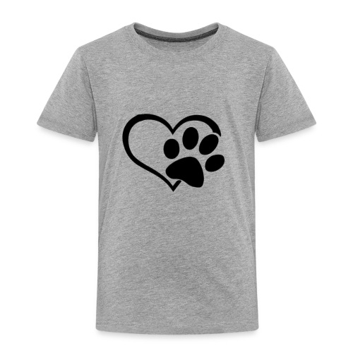 LOVE DOG - Toddler Premium T-Shirt