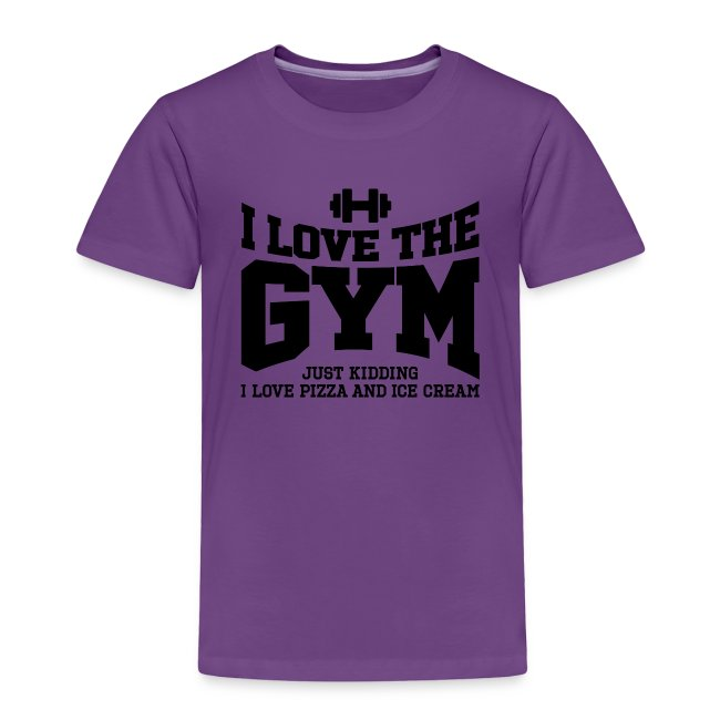 I love the gym