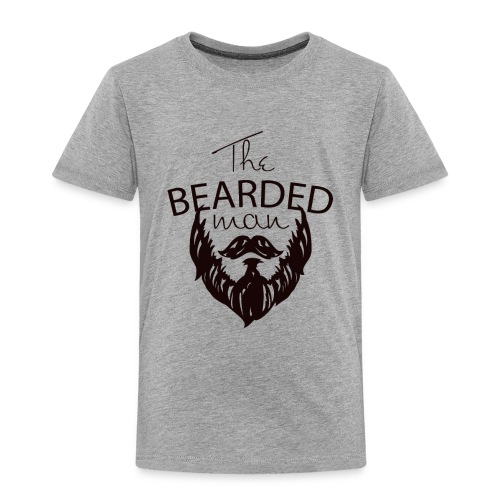 The bearded man - Toddler Premium T-Shirt