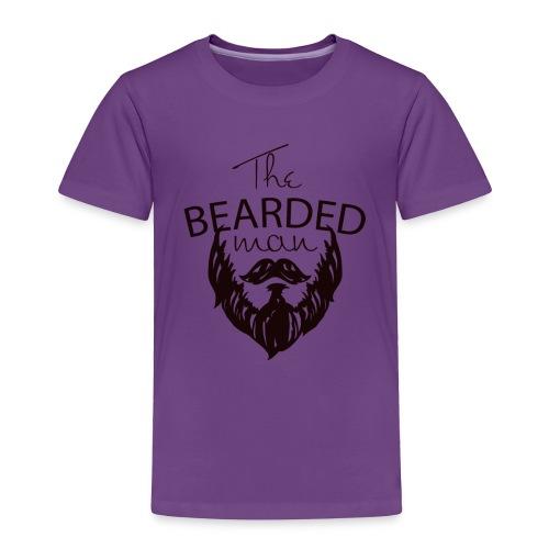 The bearded man - Toddler Premium T-Shirt